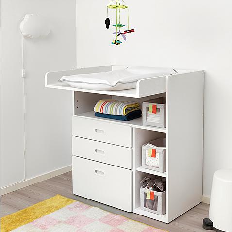 Table à langer évolutive Ikea